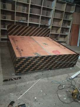 New double box bed king size