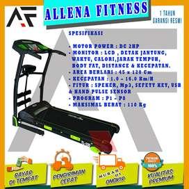 Alat Fitness Treadmill Elektrik TL 130 treadmill Listrik TL130