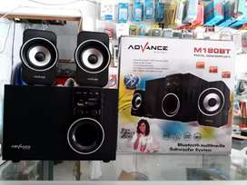 Ada speaker bluetooth advance M180BT/Speaker aktif bisa radio fm ya