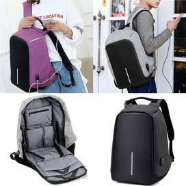 Laptop Bag Design Backpack With USB Charging Port