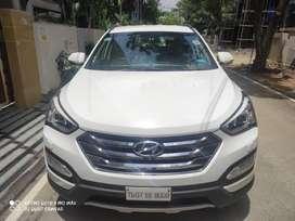 Hyundai Santa Fe 4WD AT, 2014, Diesel