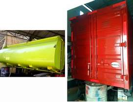 Tangki 8000L n Box Kontainer ex Hino Dutro 2020