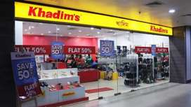 Khadims showroom requirement