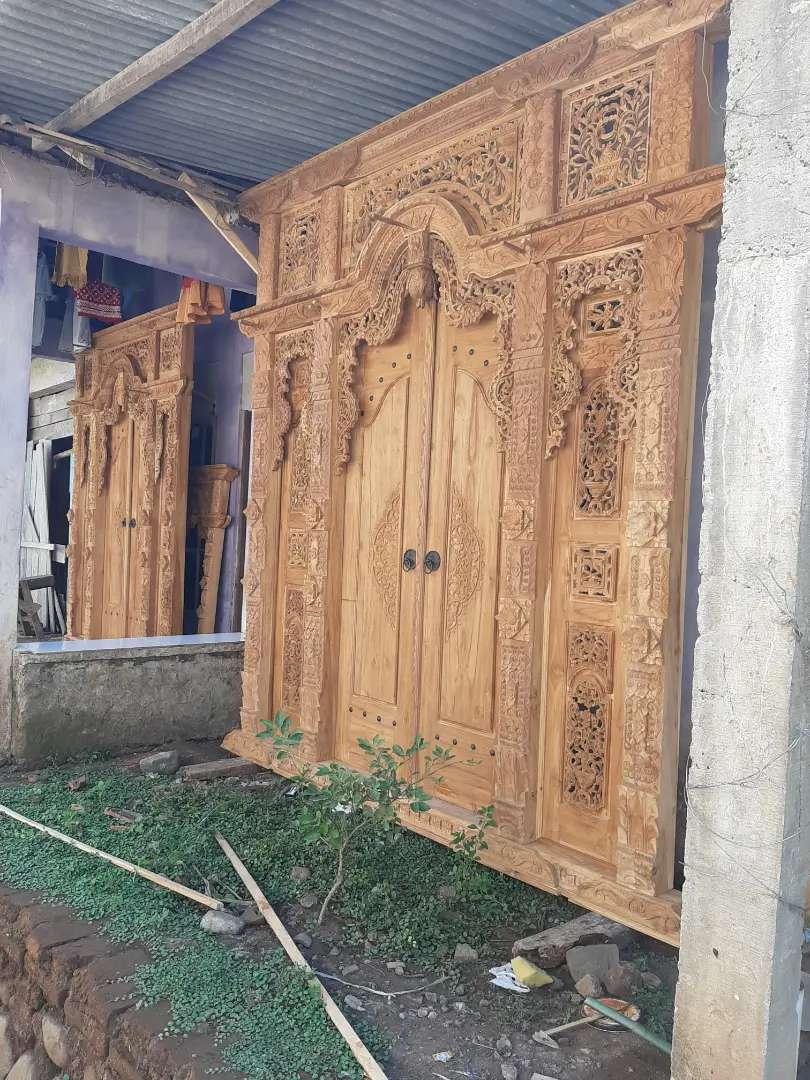 cuci gudang pintu gebyok gapuro jendela rumah masjid musholla tarul