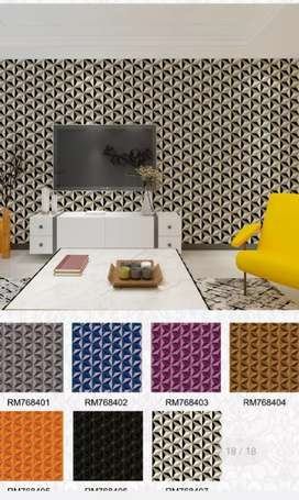 3D Wall paper design by italy