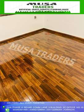 wooden flooring imported german wax coated