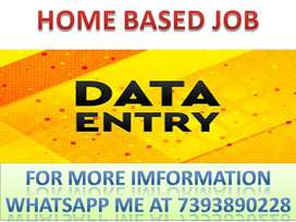 4K TO 5K WEEKLY EARN PART TIME JOB OF DATA ENTRY AVAILABLE APPLY NOW/-