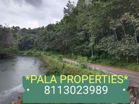 RIVER FRONTAGE HOUSE PLOT SALE IN PALA THODUPUZHA HIGHWAY NEAR 2 KM