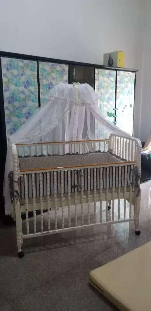 Baby box kayu komplit / tempat tidur bayi 0