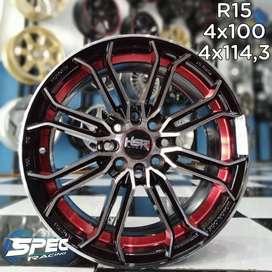 Velg Mobil Sigra Ring R15 HSR Bisa Dicicil Di Toko Velg Mobil Medan