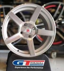 Jual velg mobil racing murah ring 15x7.0 h4x100 et35