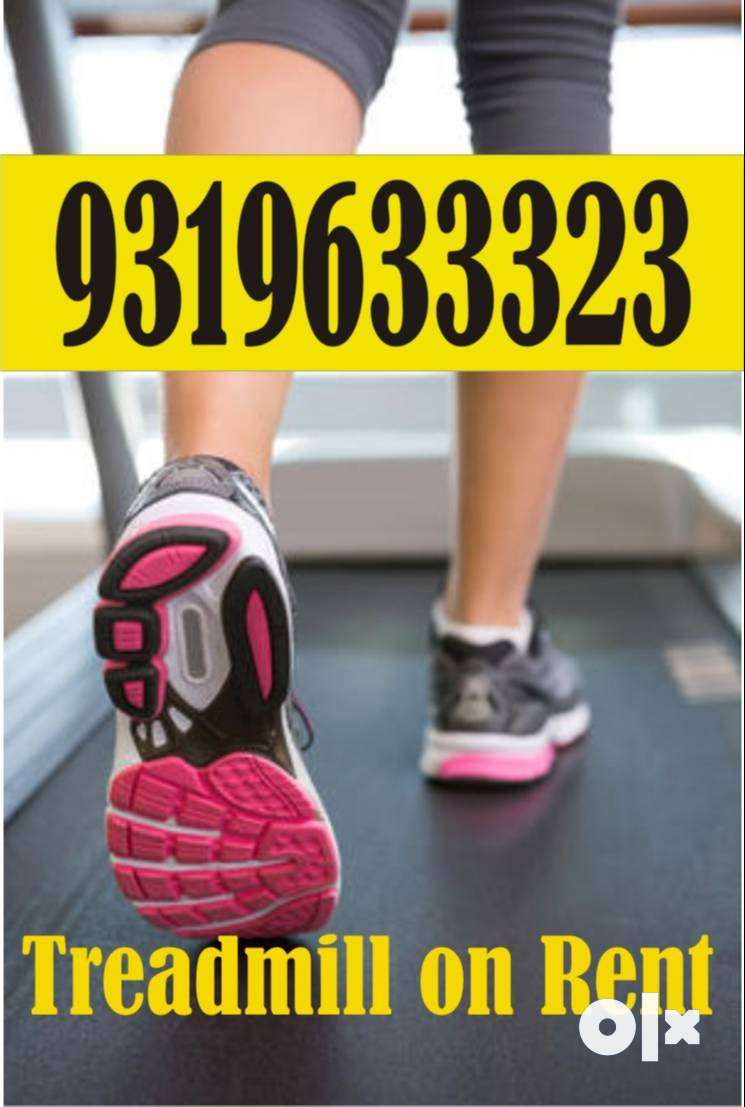 Treadmill  cross trainer exercise cycle rent in palam vihar Delhi ncr 0