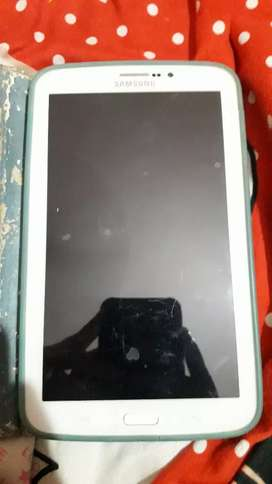 A samsung tablet in good condition
