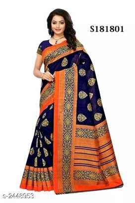 Saree Chiffon/Silk/Banarasi | free home delivery | COD