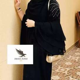 Beautiful handwork abayas from ABAYA ZONE