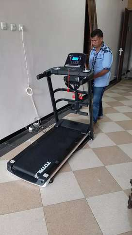 Treadmill elektrik,home gym langsung COD di rumah id 79