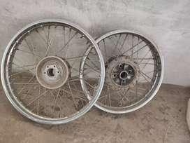 Rayal Enfield wheel
