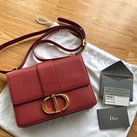 Dior Montaigne 30 Indian red