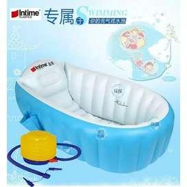 Kolam Renang Bayi / Intime Baby Bath Tub / Bak Mandi Bayi + POMPA