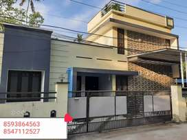 5Cent Plot With 1400Sq. Ft 3 Bhk House In Mangad