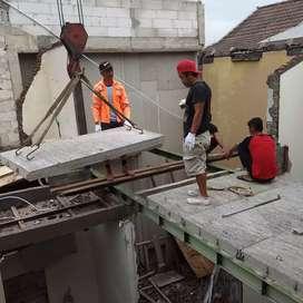 Dak beton ringan cepat praktis dan ekonomis