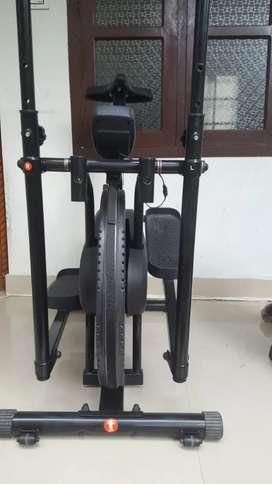 Monex Body Gym Stamina Air Bike with Back Support