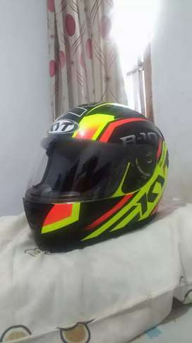 Helm KYT R10 Yellow Fluo