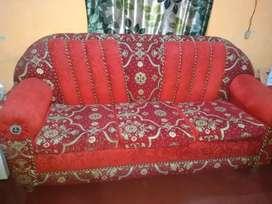 3 seater cusion fabric sofa