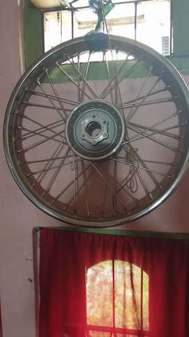 royal enfield spoke alloy wheels front and rear