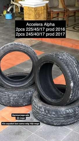 Ban Accelera Alpha 225/45/17 & 245/40/17 BMW E36/E46/Mercy