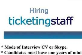 Airline Ticketing Staffs Required at Ernakulam