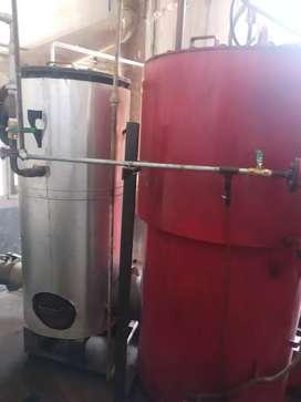 Steam diesel boiler 600 kg