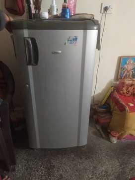 Whirlpool 165 liter refrigerator