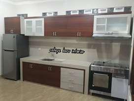Kitchen set Lurus , bahan Berkualitas Tinggi,