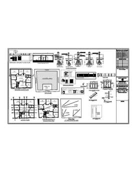 autocad 2d,3d drawings of houses and commercial