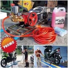 Mesin steam listrik motor bisa cod