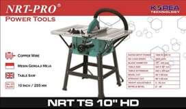 """mesin potong kayu table saw tablesaw nrt pro korea 10"""" promo"""