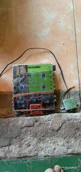 Set Audio tinggal pasang