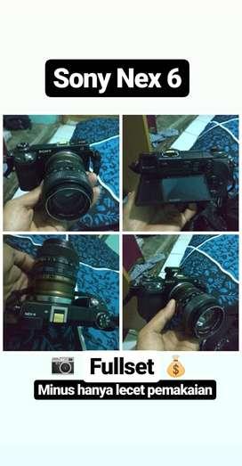Mirrorless Sony Nex 6 + Lensa