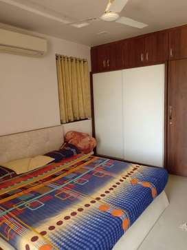 Fabulous 1 Bhk furnished flat near Alap Green City,150 Ft Road