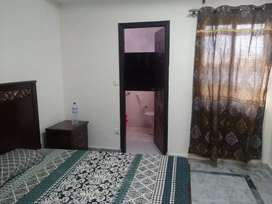Furnished flats available shot and long time bahria town