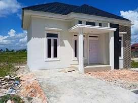 Dijual Rumah BARU MINIMALIS type 60/130m² Jln Arengka pku kota