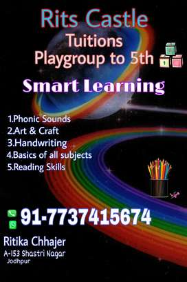 Tuitions upto 5th
