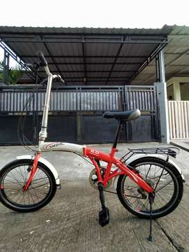 Sepeda lipat exotic 20inch