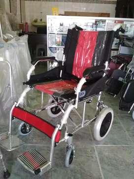 Kursi roda travelling alumunium gea