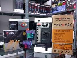 PC/CPU KOMPUTER i3 / i5 / i7 BARU - READY DESAIN GRAFIS KANTOR KASIR