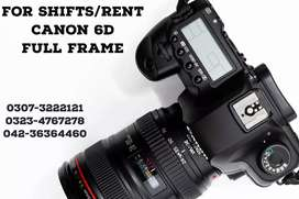 DSLR cameras on Rent. 6d 24-105, 70-200, Crane,Drone, 700d 60d on rent