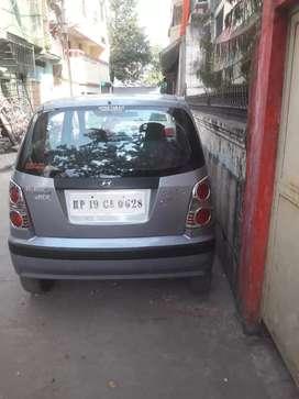 A santro car in very good condition.
