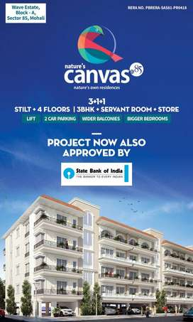 3+1luxury Apartments Facing 2 Acres Park In Canvas.