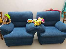 5 Seater Fabric Sofa